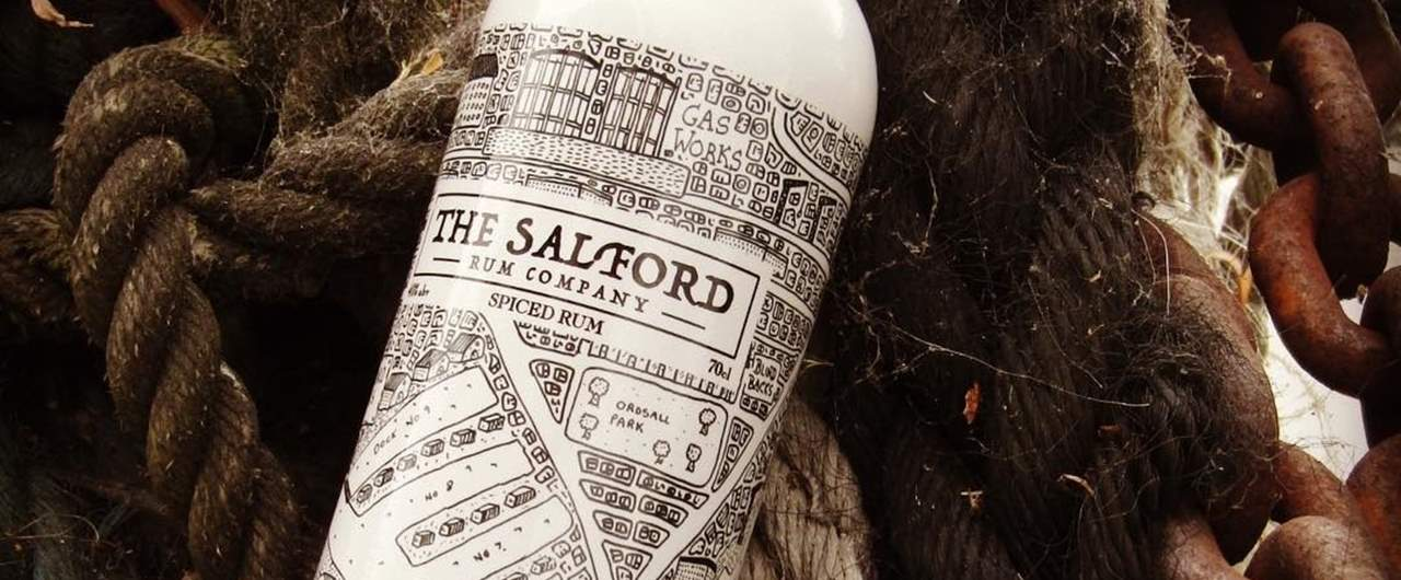 Salford Rum Company Bottle